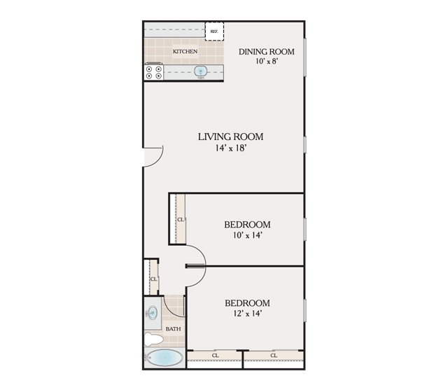 Floor plans atrium apartments for rent in philadelphia pa for 700 sq ft apartment design